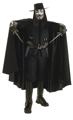 V For Vendetta Grand Heritage Movie Costume-Standard + Bonus!