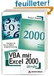 VBA mit Excel 2000 lernen.