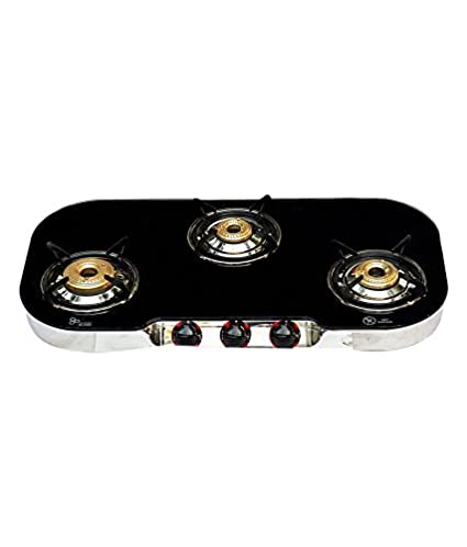 304 J Manual Ignition Gas Cooktop (3 Burner)