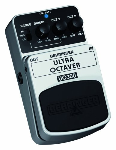 Behringer UO300 Ultra Octaver 3-Mode Octaver Effects Pedal