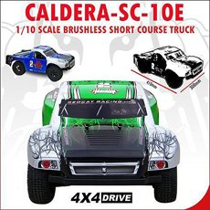 CALDERA-SC-10E ~ Short Course RC Truck ~ 1/10 Brushless Electric ~ NEW ITEM by Redcat Racing ~ BLUE