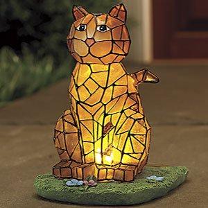 Potpourri Mosaic Solar Cat