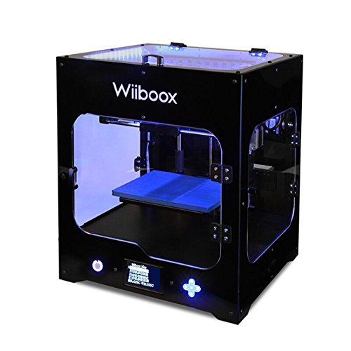"""Wiiboox CCP0000011 ONE MINI Desktop 3D Printer, Single Extruder, 100 microns, 7.8"""" x 5.9"""" x 5.9"""", 1 Air Particle Filtration Module, Metal Frame Structure, Black/White/Yellow/Blue/Green/Brown"""