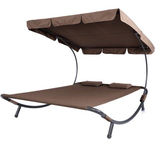 miadomodo-lettino-da-giardino-2-posti-con-schienale-e-tetto-parasole-colore-a-scelta-marrone