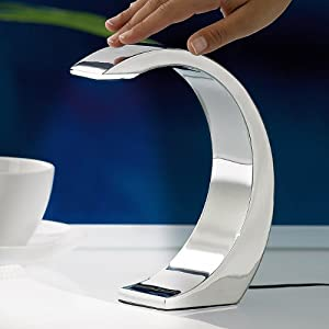 beste innenbeleuchtung bewertungen de g nstige lunartec 3 watt led design tischlampe moon. Black Bedroom Furniture Sets. Home Design Ideas