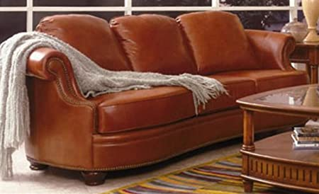 Fairbanks Top Grain Leather Sofa Couch