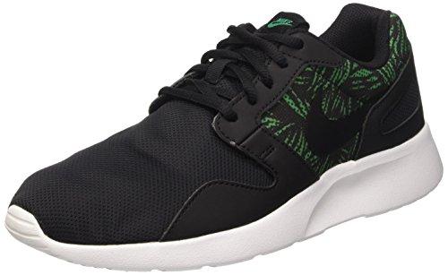 Nike Kaishi Print Scarpe da corsa, Uomo, Multicolore (Black/Black-Lucid Green-White), 42