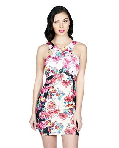 Wow Couture Women's Floral Bodycon Dress