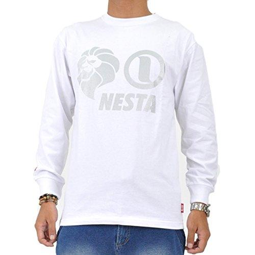 (ネスタブランド) NESTA BRAND メンズ長袖Tシャツ LS1401F WHT L