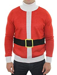 Ugly Christmas Sweater - Santa Sweater by Tipsy Elves (S)