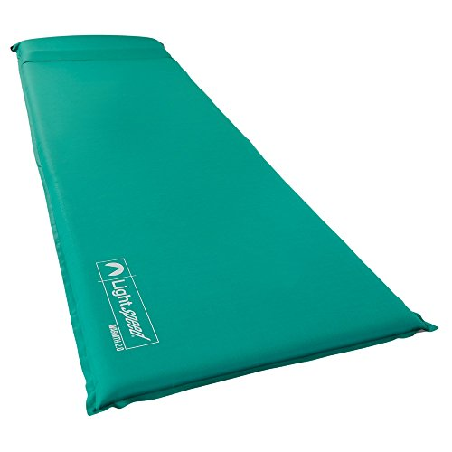 coleman self inflating camp pad instructions