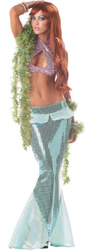 Adult Sexy Mermaid Costume Size Medium (8-10)