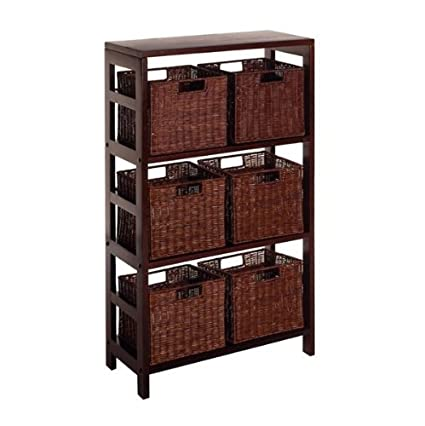 Leo Storage Shelf and Baskets