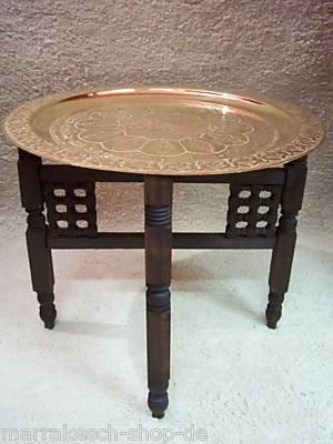 Marokkanischer tisch mehdia 60cm goldfarbig for Amazon tisch