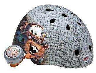 Disney Pixar Cars Mater Bicycle Helmet with Bonus Bell (Age 5+)