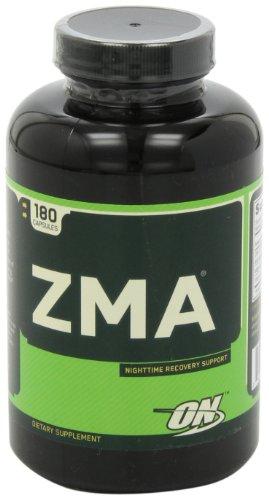 Optimum Nutrition ZMA 锌镁力复合夜间恢复胶囊 180粒图片