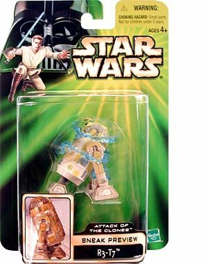 Star Wars: Power of the Jedi Sneak Preview R3-T7 Action Figure by Star Wars [並行輸入品]