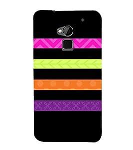 Flag Host Lines 3D Hard Polycarbonate Designer Back Case Cover for HTC One Max