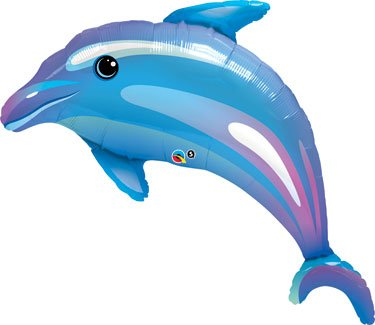 Dolphin Mylar Balloon, Set of 2