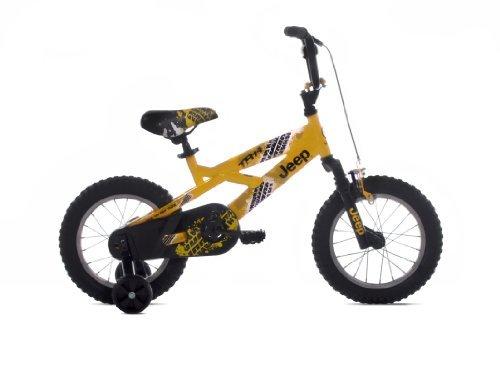 Steel Frame - Jeep Boy's Bike (14-Inch Wheels)