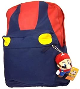 Super Mario (Red/Blue Shirt) Backpack