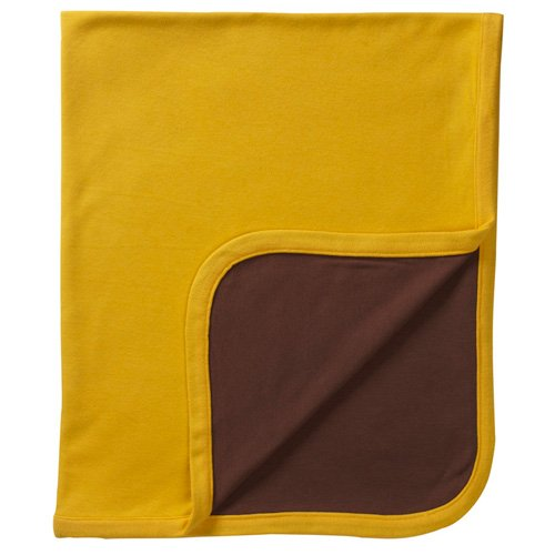 Baby Soy Organic Reversible Blanket, Cocoa