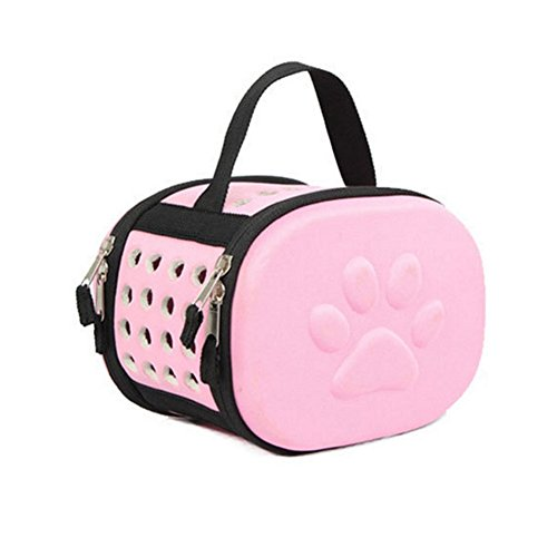 CatYou Hamster Come Along Small Animals Carrier (Pink)