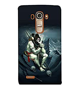 printtech Shiva Lord Weed Back Case Cover for LG G4::LG G4 H815