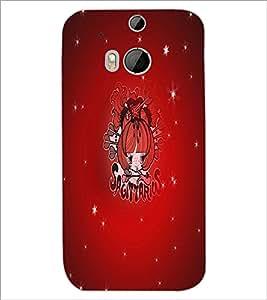 HTC ONE M8 SAGITTARIUS Designer Back Cover Case By PRINTSWAG