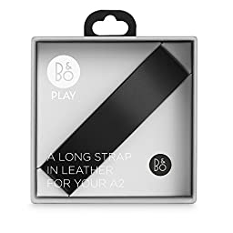 B&O PLAY by Bang & Olufsen Beoplay A2 Accessory Long Leather Strap (Black)