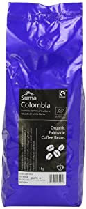 Suma Fairtrade Organic Colombia Cosurca Coffee Beans 1 kg