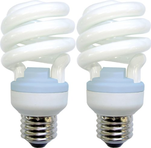 ge lighting 75411 reveal spiral cfl 13 watt 60 watt replacement 800 lumen t. Black Bedroom Furniture Sets. Home Design Ideas