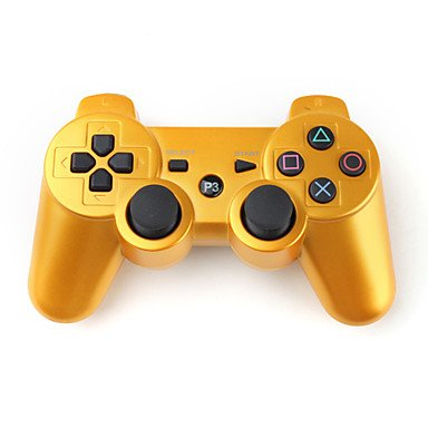 Wireless DualShock 3 Controller for PS3 (Gold)