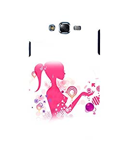 printtech Beautiful Flower Girl Abstact Back Case Cover for Samsung Galaxy A5 / Samsung Galaxy A5 A500F
