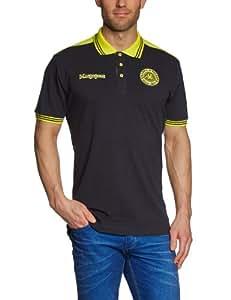 Kappa Polo Shirt Soccer, Black, M, 302787