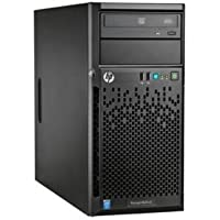 HP ProLiant ML10 v2 Tower Server with Intel Quad-core Xeon E3-1220 / 4GB + Free iStarUSA Trayless Hot-Swap Cage - OEM