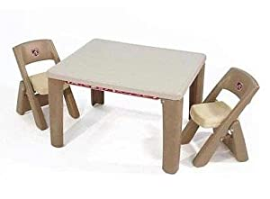 LifeStyle Folding Table & Chairs Set 2
