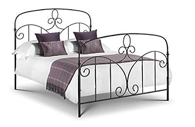 Julian Bowen Corsica Bed, Black