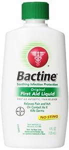 Bactine Original First Aid Liquid, 4 Ounce