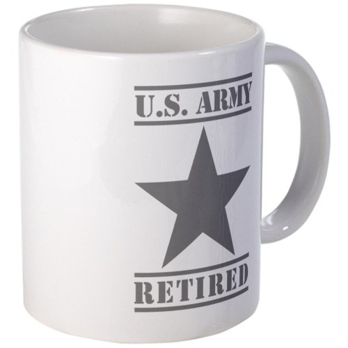 Retired Army Coffee Mug Military Coffee Mug by CafePress
