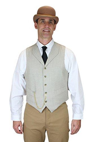 Historical-Emporium-Mens-DeWitt-Linen-Vest