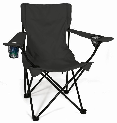 Save Folding Tailgate Chair Black Deal