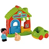 ELC HAPPYLAND VILLAGE VET WITH CLINIC RABBIT CAR BIRD CAGE FOR AGE 18M+ NEW