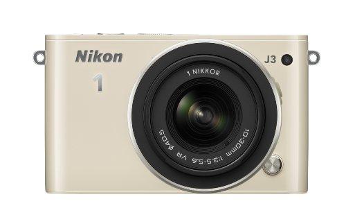 Nikon ミラーレス一眼 Nikon 1 J3 標準ズームレンズキット1 NIKKOR VR 10-30mm f/3.5-5.6付属 ベージュ N1J3HLKBG