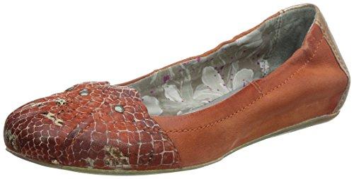 Mjus 291106-2620-9141, Ballerine chiuse donna, Rosso (Rot (arancio+corallo+corallo)), 38