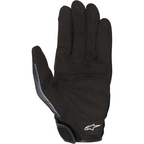 Alpinestars Mech Pro Men's Textile Street Bike Racing Motorcycle Gloves - Black/Gray / Medium