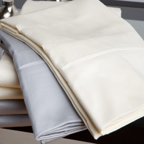 Quilts Etc. Tencel Blend Sheet Sets (Ivory, Queen)