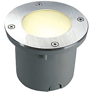 SLV Lighting 227485U Wetsy Recessed Ground Lamp with Round Cover