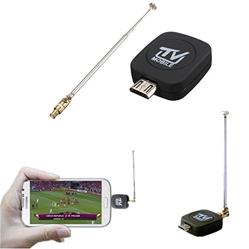 Mini Micro USB DVB-T Digital Mobile TV Tuner Receiver For Android Phone Tablet PC (Digital Mobile Tv Tuner compare prices)