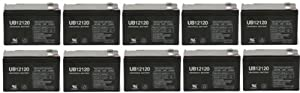 Tenergy 12V 12AH (LP12-12) Maintenance-free Sealed Lead-acid Battery - 10 Pack